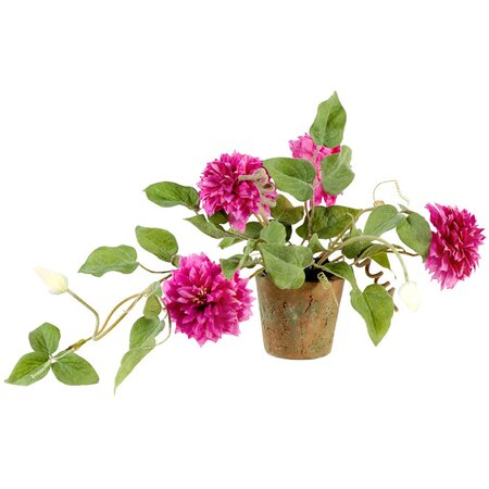 New Growth Designs Faux Clematis Arrangement