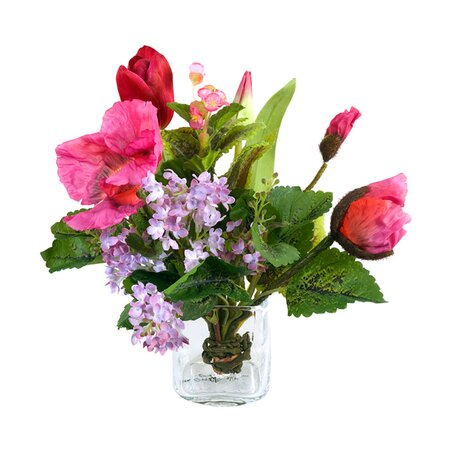New Growth Designs Faux Mixed Floral Arrangement II