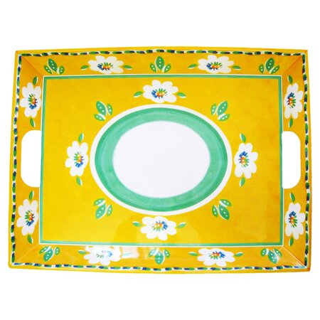 Campania Serving Tray in Yellow