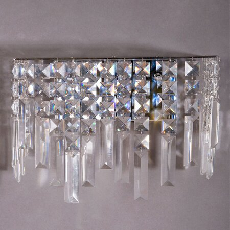 Decorative Crystal Wall Sconces : Image Crystal Sconces Wall Decor Download