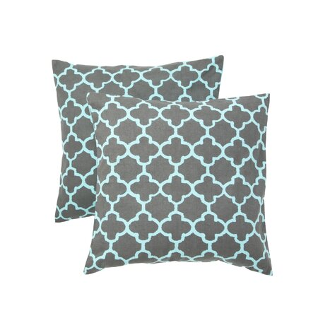 Marrakech Pillow in Charcoal - Set of 2