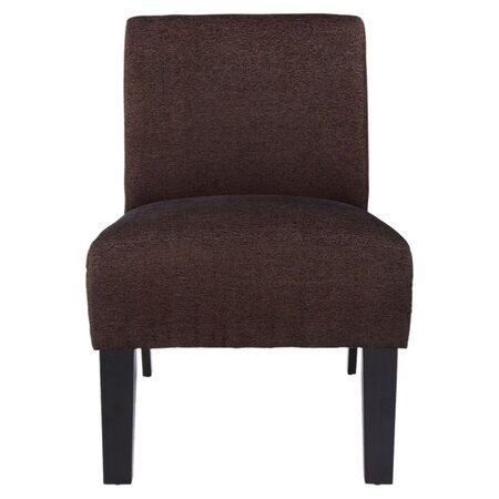 Paulina Accent Chair in Brown