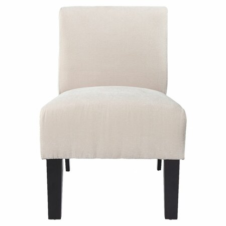 Paulina Accent Chair in Ivory  Accent Chairs Under $150