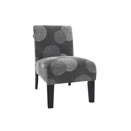 Flora Accent Chair in Grey