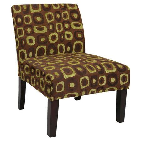 Ave Six Laguna Accent Chair in Twilight Basil