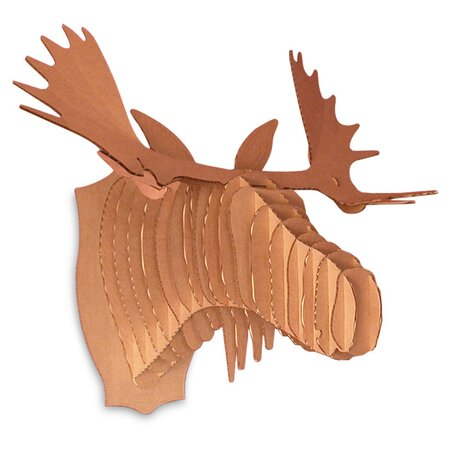 Decorative objects joss and main - Cardboard moosehead ...