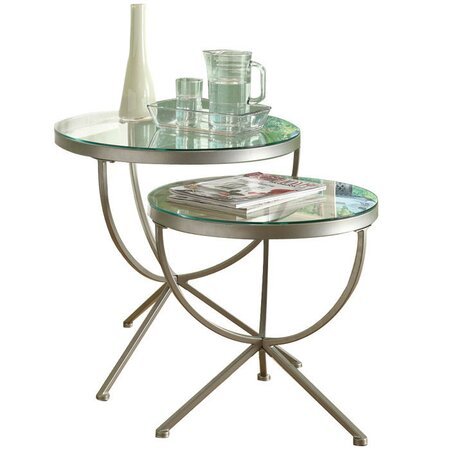 2 Piece Sibora Nesting Table Set
