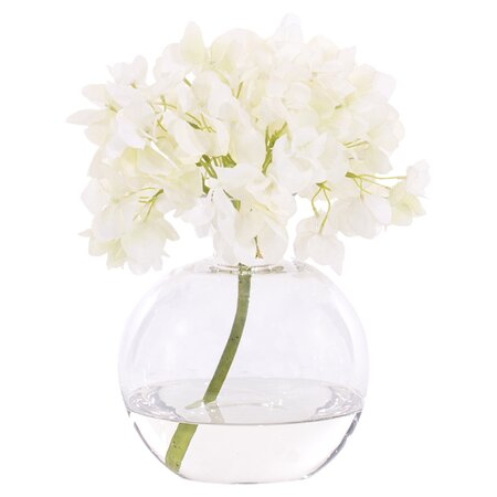Natural Decorations Inc. Silk Hydrangea Arrangement