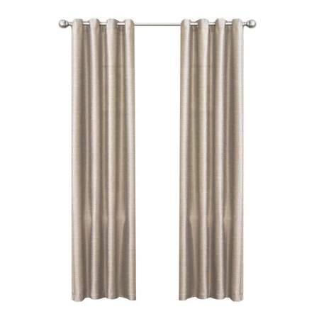 Felicity Curtain Panel in Taupe