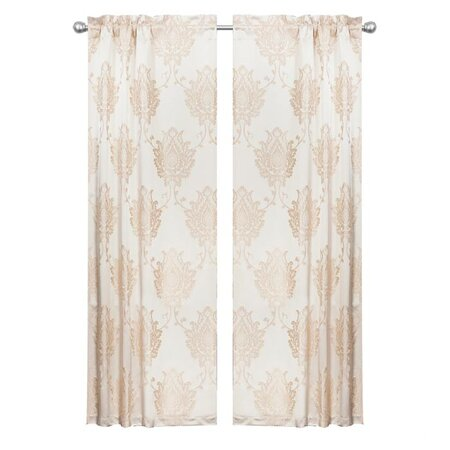 Floral Classic Curtain Panel