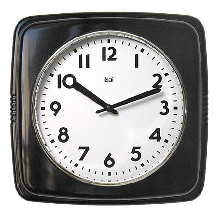 Harper Wall Clock in Black