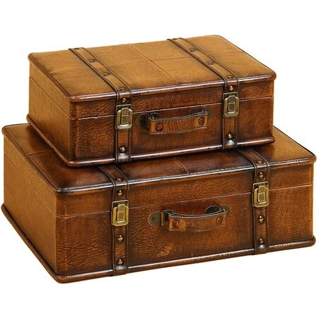 2 Piece Albertson Trunk Set