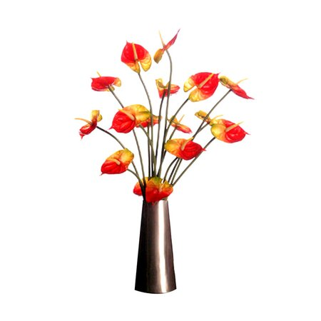 Faux Anthurium Arrangement