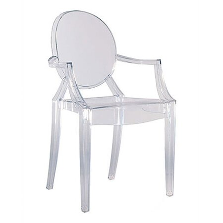 Louis Ghost  Chair in Clear