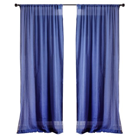 Amita Curtain Panel in Dutch Blue