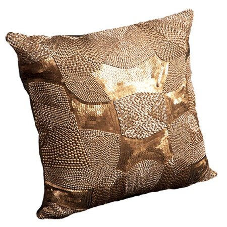 Harlow Pillow In Antique Gold