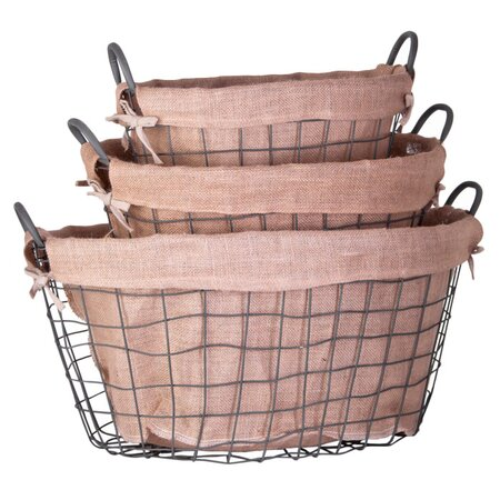 3 Piece Augusta Basket Set