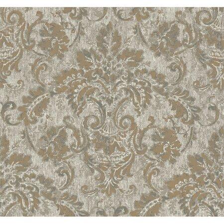 french damask metallic wallpaper - photo #2