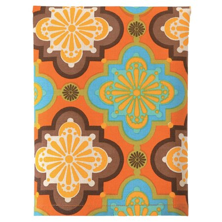 Pressed Flowers Kitchen Towel