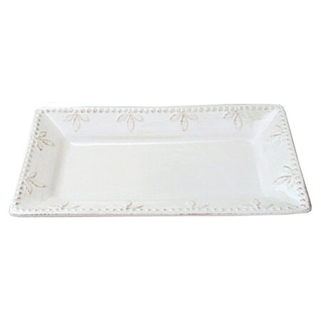 Campania Rupe Serving Tray in Ivory