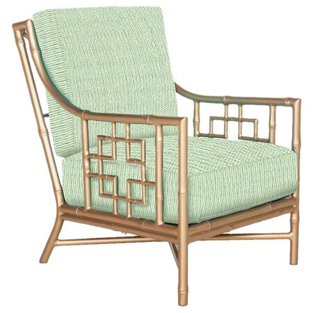 Beverly Lounge Chair in Mint