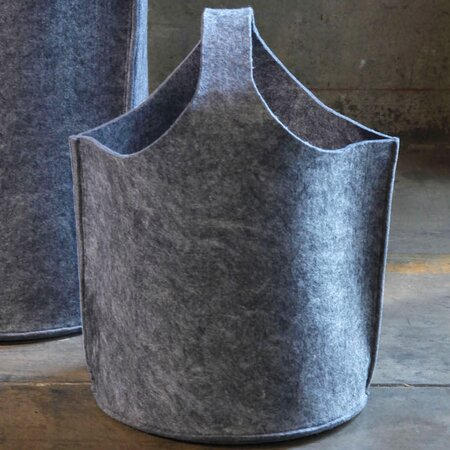 Olive Tote in Gray