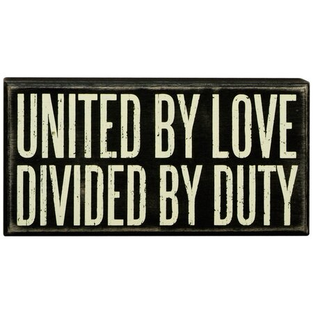 United by Love Box Sign