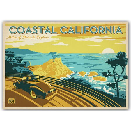 Coastal California Wall Art