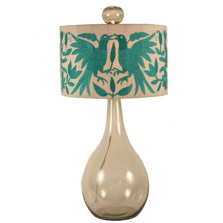 Shelly Table Lamp in Aqua