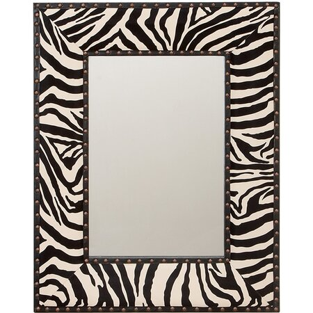 Zebra Wall Mirror