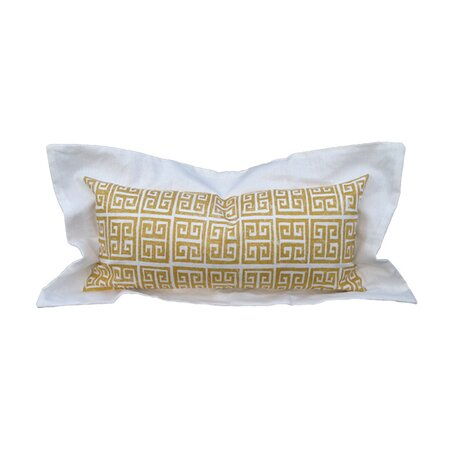 Tegea Boudoir Pillow in Gold