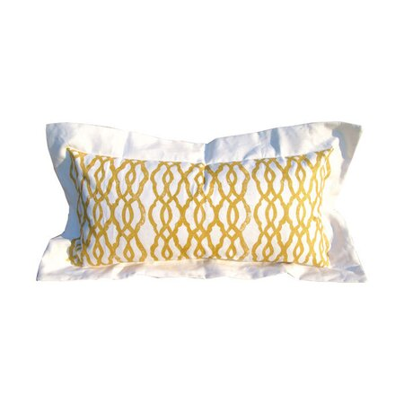 Fretwork Lumbar Pillow