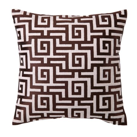 D.L. Rhein Kyrenia Pillow in Chocolate