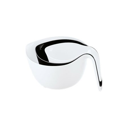 3 Piece Black & White Mixxx Mixing Bowl Set