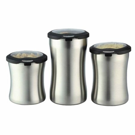 kitchen 3a possible 3 piece air tight canister set erv1019 e1066