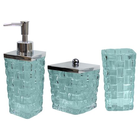 Bath accessories joss and main for Aqua bathroom accessories sets