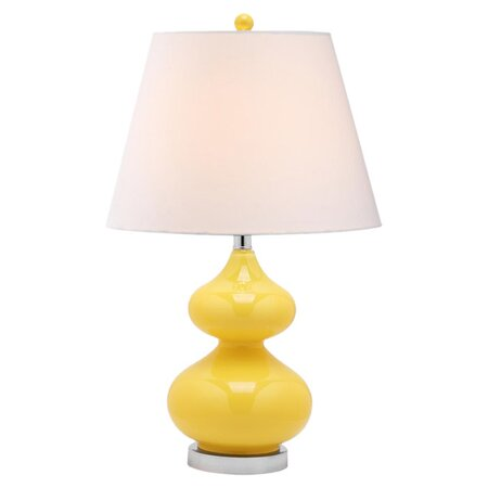 Evette Table Lamp in Yellow (Set of 2)
