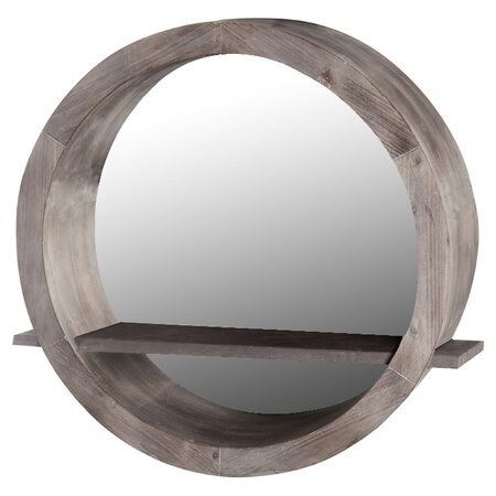 Leavitt Wall Mirror/Shelf