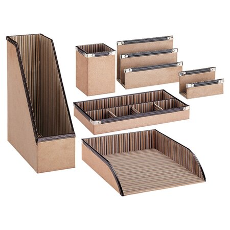 6 piece valero desk organizer set in working order on - Desk organizer sets ...