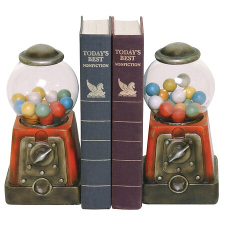 Gumball Bookend (Set of 2)
