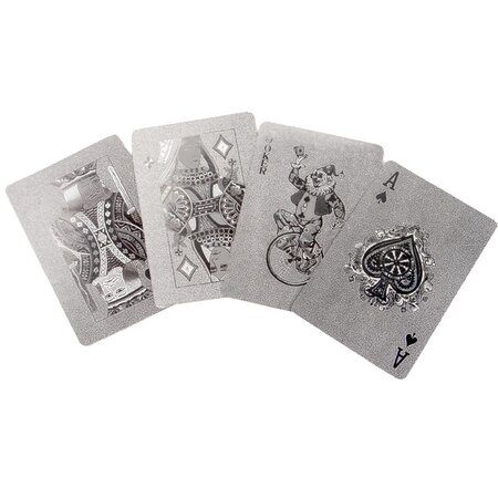 Kikkerland Argento Playing Cards