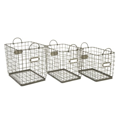 3 Piece Hopper Basket Set