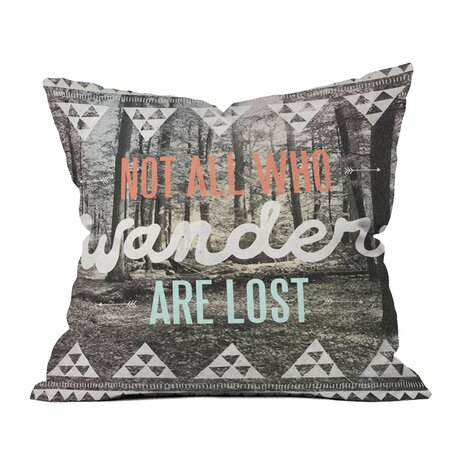 Wesley Bird Wander Pillow