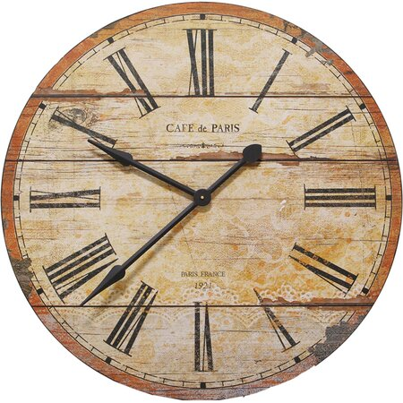 Café de Paris Wall Clock
