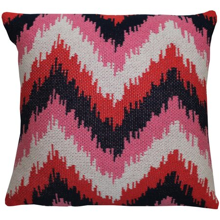 Ikat Zig Zag Eco Pillow Cover