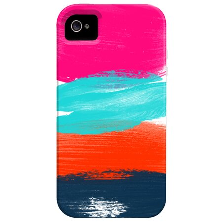 Brushstrokes iPhone 4 Case