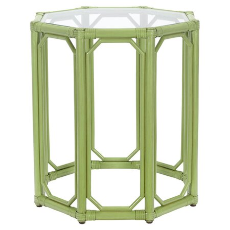 Regeant End Table in Green
