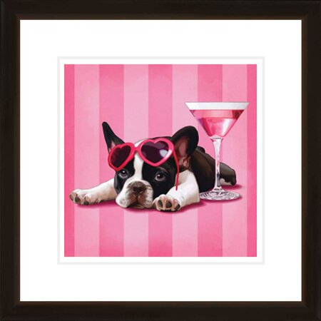 Fancy Dog Framed Wall Art II