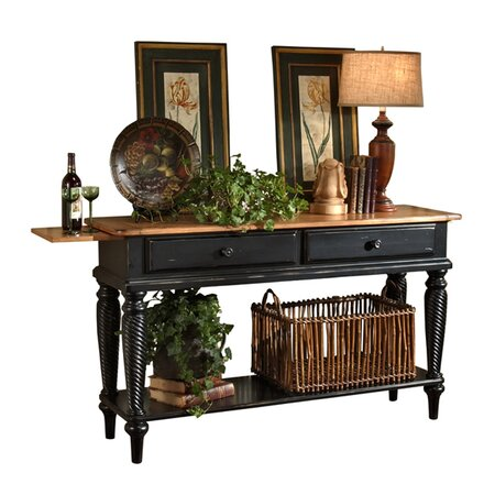 Cumbria Sideboard Table in Black