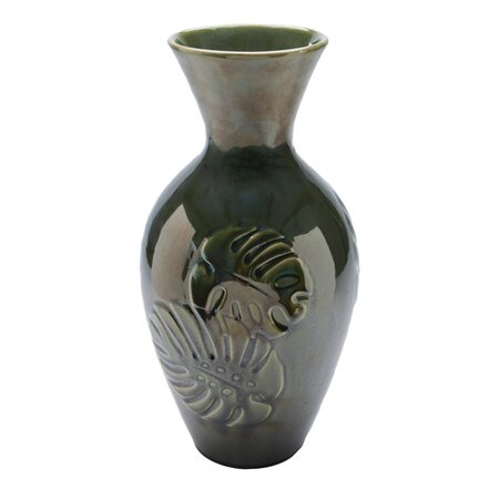 Alyssa Vase in Green
